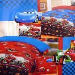 Sprei karakter Pixar's latest film Cars kamar anak murah gambar