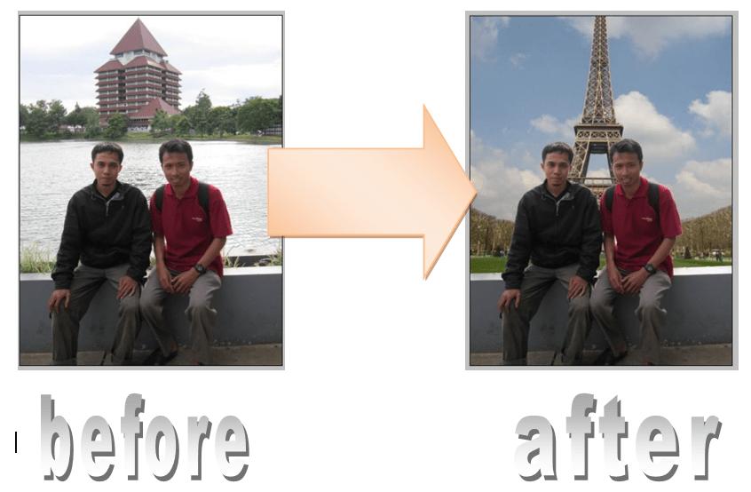 Ebook Chilman Sampul Cara Merubah Background Foto Praktis Pakai