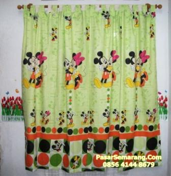 gorden MICKEY MOUSE  hijau love romantik hijau