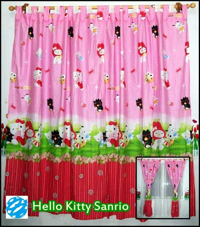 hordeng hello kitty gordyn karakter anak