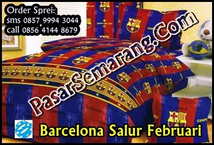 Kamar anak cowok kamar sepakbola barcelona sprei kamar cewek barca