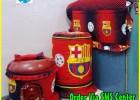 Sarung Galon Set Tutup Kulkas Sarung Magic Com Barcelona