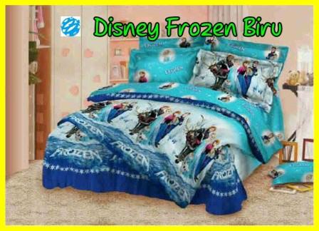 jual sprei frozen jual bedcover frozen jual gorden