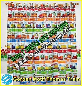 Jual gorden motif thomas, aksesoris motif thomas, Gorden Thomas Train