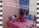 Jual Perlengkapan Tidur Bergambar Hello Kitty, Naruto, Keroppi, Doraemon