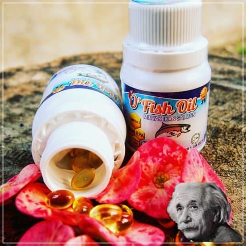 Vitamin anak untuk kecerdasan otak kapsul minyak ikan salmon asli