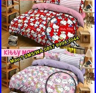 Ini Loh Kak Model Sprei Hello Kitty Terbaru