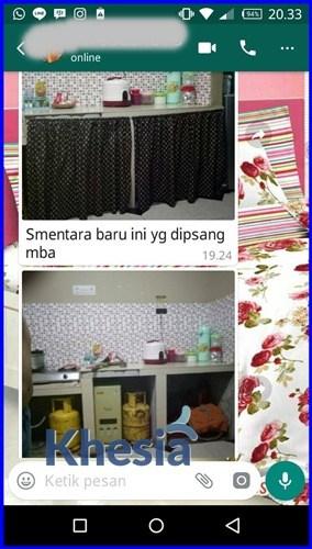 Tirai Pintu Dapur, Tirai Meja Dapur Untuk Kompor