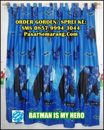 Gorden Batman Dark Knight Biru Dongker