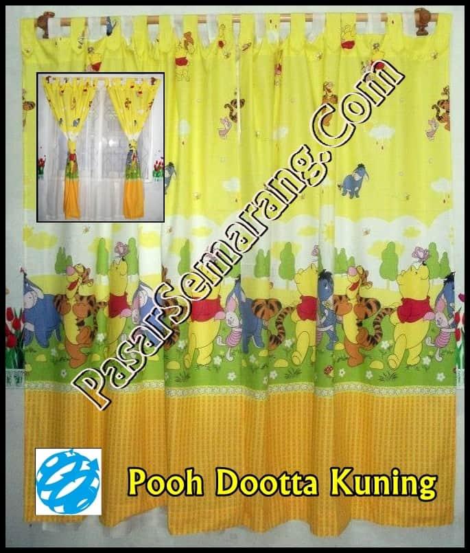 Aksesoris kamar anak warna kuning pooh winnie the pooh Kuning