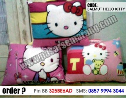 toko yang jual bantal selimut balmut murah motif hello kittu SMS order 0857 9994 3044
