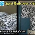 Jual Sprei Bedcover Tirai Jendela Karakter Kulit Zebra Keren