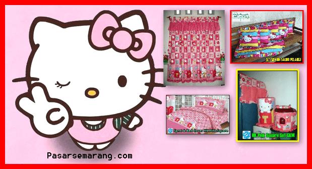 Jual Gorden Hello Kitty Murah Motif Terbaru Online