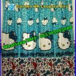 Pernak Pernik Hello Kitty Gorden Anak Karakter Leopard Toska, Jual Sprei Anak Murah, Jual Sprei Murah dan Bagus