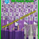Pernak Pernik Hello Kitty Gorden Karakter Hello Kitty Purple Ungu, Sprei Bagus dan Murah