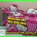 Pernak Pernik Hello Kitty Homeset HK Dotty Pink, Model Gorden Kamar Tidur, Harga Gorden Ruang Tamu