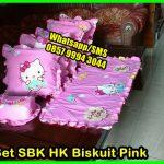 Pernak Pernik Hello Kitty SBK HK BISKUIT PINK, Taplak Meja Makan Set, Model Taplak Meja Makan
