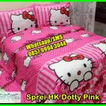 Pernak Pernik Hello Kitty Murah, Jual Gorden Hello Kitty, Grosir Sprei Karakter Hello Kitty