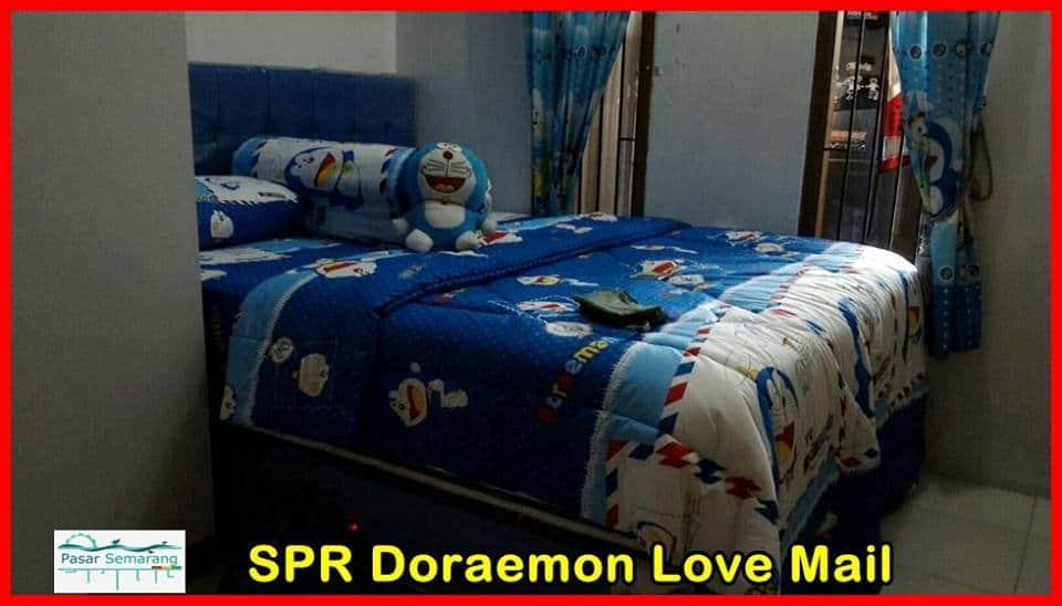 foto kamar tidur serba doraemon