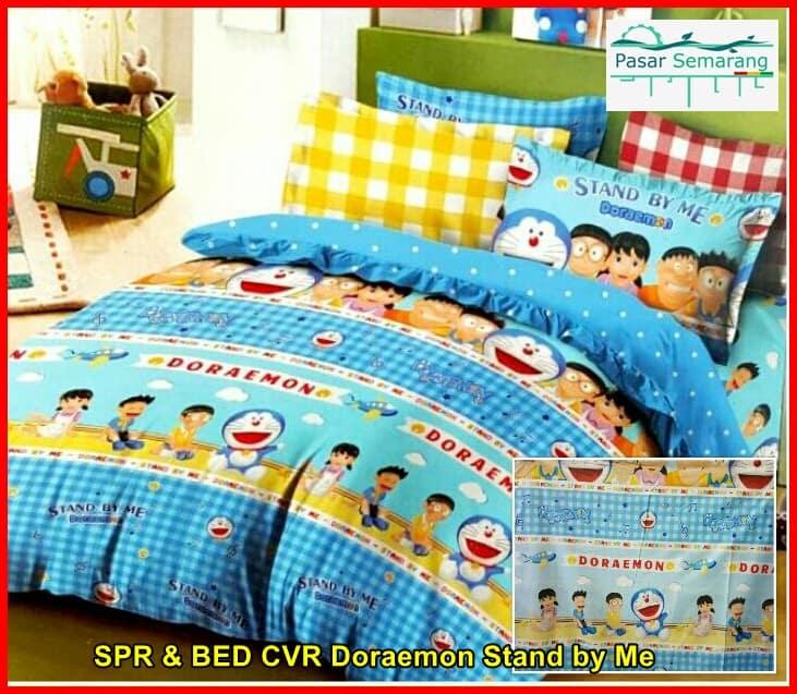 Inspirasi Bunda! Desain Kamar Tidur Anak Minimalis Doraemon Cute