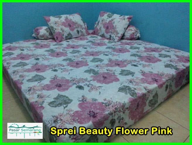 sprei beautifull pink