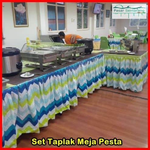 Jual Taplak Meja Makan Full Set 17