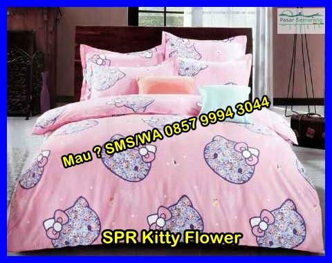 Gambar Sprei Hello Kitty