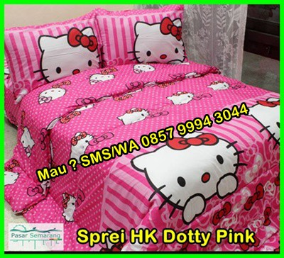 Jual Sprei Hello Kitty
