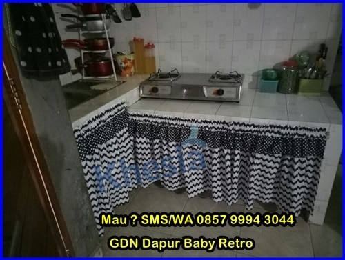Gorden Untuk Dapur Minimalis, Gorden Buat Dapur Minimalis Simple