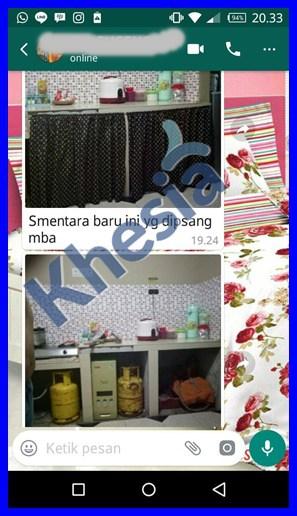Motif Dinding Dapur Minimalis