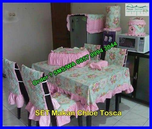 Harga Taplak Meja Makan Batik, 1 Set Taplak Meja Makan