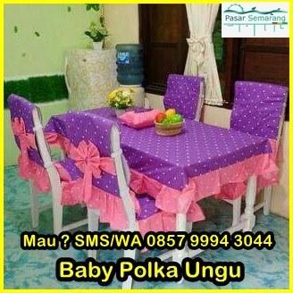 taplak meja makan set murah, Jual Taplak Meja Makan
