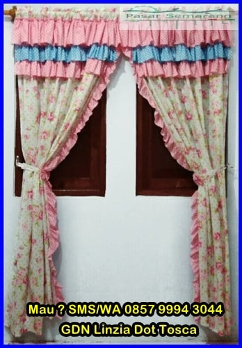 model hordeng jendela, gorden cantik murah, Model Hordeng Jendela Minimalis