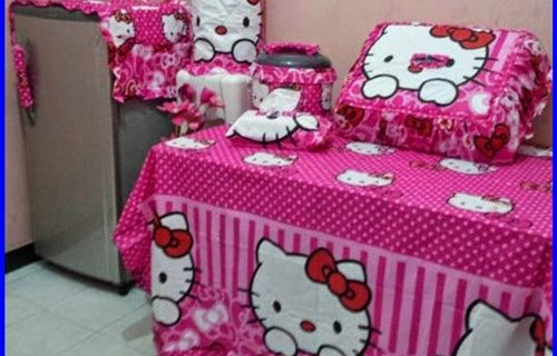 Taplak Meja Makan Hello Kitty Ternyata Bikin Rumah Jadi Lebih Manis