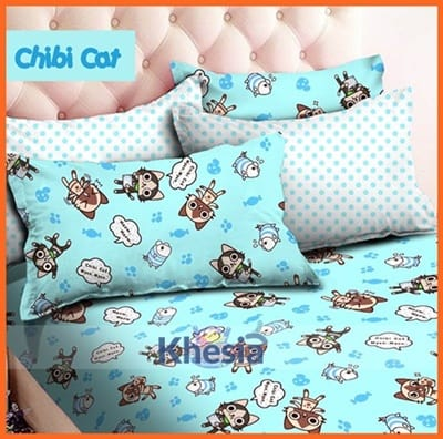 bed cover anak perempuan