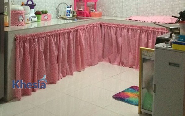 model gorden jendela dapur