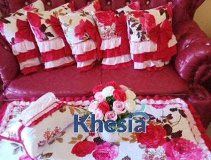 Motif Bunga untuk Taplak Meja dari Khesia Memang Paling OKE
