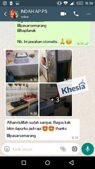 Pakai Taplak Meja Makan Full Set Dari Khesia, Keluarga Makin Harmonis 2
