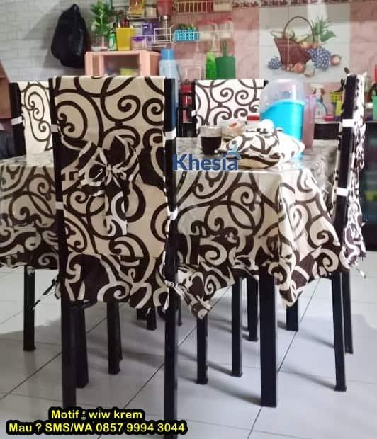 Pakai Taplak Meja Makan Full Set Dari Khesia, Keluarga Makin Harmonis 1