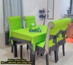 Pakai Taplak Meja Makan Full Set Dari Khesia, Keluarga Makin Harmonis